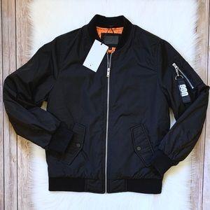 UGG Black Frances Oversized Bomber Jacket